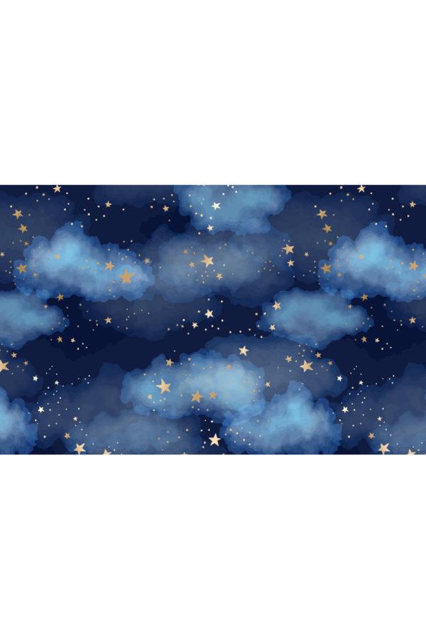 Alfombra vinílica Night Sky talla S 95x60 cm