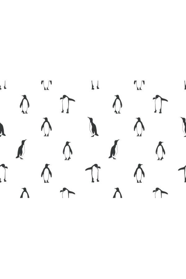 Alfombra vinílica Penguins talla S 95x60 cm