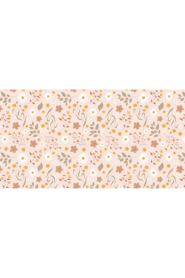 Alfombra vinílica Primavera Rosa talla L 150x80 cm