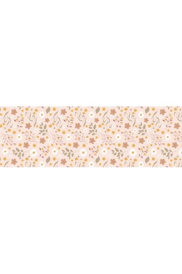 Alfombra vinílica Primavera Rosa talla M 180x60 cm