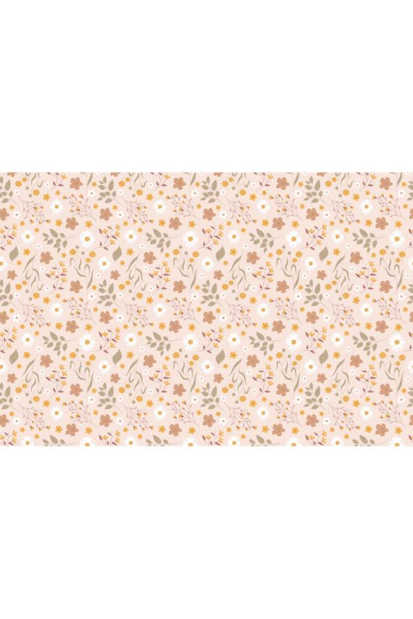 Alfombra vinílica Primavera Rosa talla XL 196x130cm